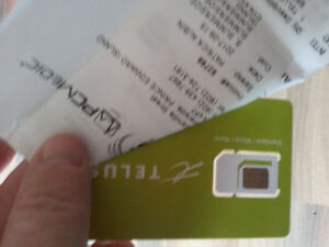 New Telus Sim card for sale