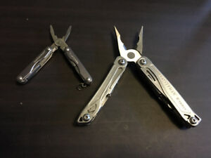 Leatherman multitools - Wingman & Squirt P4