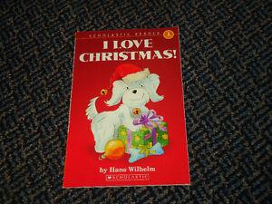 Scholastic Reader Level 1: Noodles: I Love Christmas Paperback