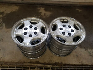 Chevy Silverado 16 inch rims with centers