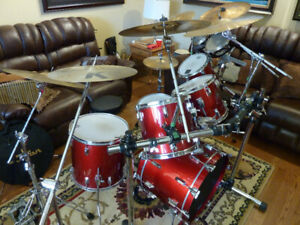 Tama Drum Kit with lots of Extras