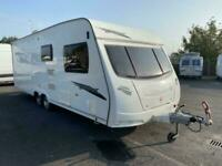 2009 Lunar Spirit fixed bed twin axle.