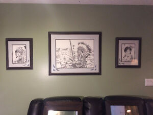 Bernie Brown Framed Prints