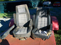 Pair of bucket seats from 1982 Ford Bronco.