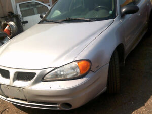 2005 PONTIAC GRAND AM..4DR..SELLING AS IS