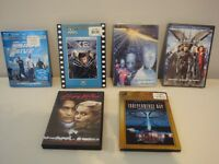 Lot de cinq (5) films format DVD/Blu-Ray