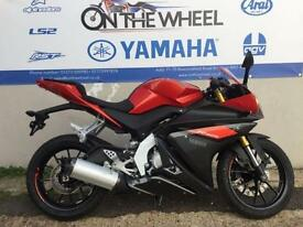 2016 YAMAHA YZF-R125 ABS FRESH RED,