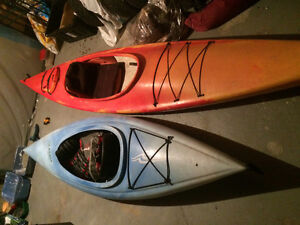 2 kayaks. Great condition.