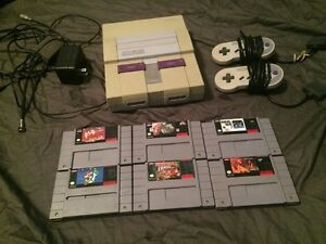 Super Nintendo lot
