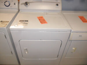 6 Month Warranty on Reconditioned Dryers
