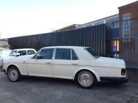1982 Y ROLLS-ROYCE SILVER SPIRIT 6.8 V8 4D AUTO. SPARES OR REPAIR. BARGAIN.