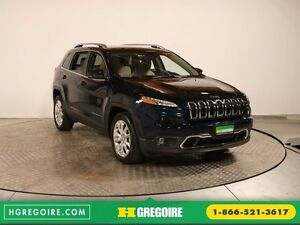 2016 Jeep Cherokee Limited GR ELECT CUIR MAGS BLUETOOTH CAM RECU