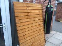 2 X fencing panels