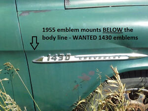Wanted 1955 to 1959 Chev Panel Trucks