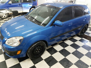 2009 Kia Rio Hatchback 5 spd manual, Winter/summer Rims/Tires