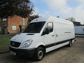 2010 10-REG Mercedes-Benz Sprinter 313CDI LWB AUTOMATIC. AIRCON. IDEAL CAMPER