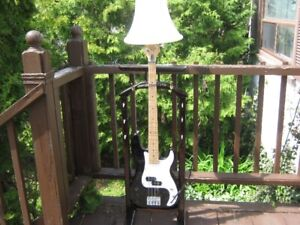 kona bass guitar lamp. one of a kind. price firm