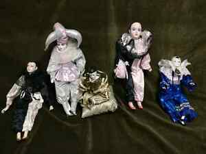 Creepy Clown Dolls - Perot China