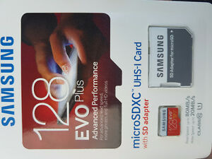 128 GB micro sd card Kitchener / Waterloo Kitchener Area image 1