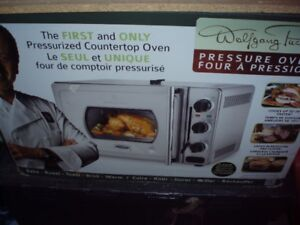 wolfgang puck pressurized oven**like new