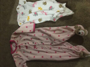 Baby girl clothes, 3-9 momths