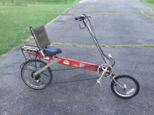 Bike E CT recumbent bike