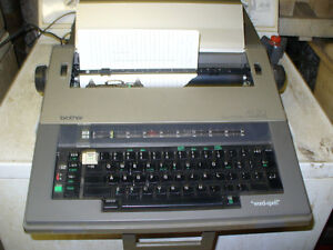 Brother AX-20 Electric Electronic Typewriter,working