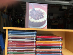 Set of Time Life Hardcover Cookbooks