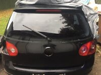 Volkswagen Golf tailgate for breaking full car all parts available MK5 2004 2005 2006 2007