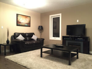 Spacious Two Level Furnished Crew House in Dawson Creek