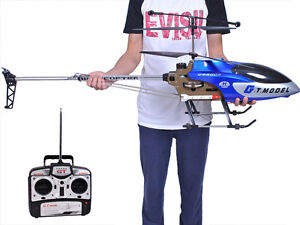 NEW 53 IN HELICOPTER 2 SPEED 3.5 CHANNEL TOY RC CONTROL REMOTE