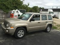 2009 Jeep Patriot SUV, Crossover winter is coming