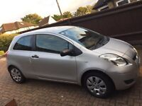 Toyota Yaris 1.0 T2 2009 silver 50,000 miles new MOT history immaculate