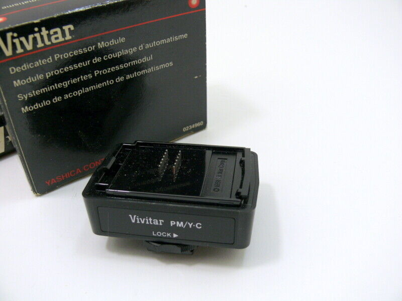 Vivitar dedicated processor module for Yashica /Contax.