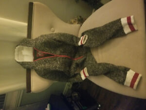 Roots style childrens onesie suit ! 5-7yr old size xs $15