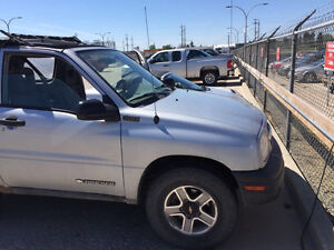 2002 Chevy tracker convertible 4x4