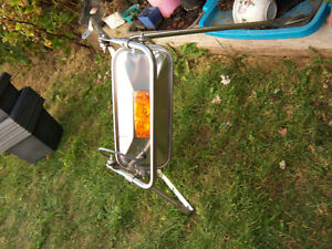 NEW STAINLESS STEEL TRUCK MIRROR & MOUNTING BRACKET/ ARM ASSY Strathcona County Edmonton Area image 2
