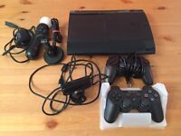 Play Station 3 500gb 9 games and accessories