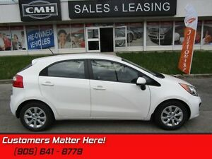 2012 Kia Rio LX+   HEATED SEATS, STEERING WHEEL AUDIO CONTROLS!