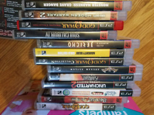 Retro games PS1 PS2 PS3 XBox