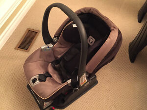 Peg perego baby seat and stroller