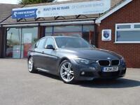 2014 14 BMW 3 SERIES 3.0 330D M SPORT 4DR AUTO (255) SAT NAV DIESEL