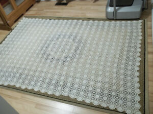 Handmade Crocheted Table Cloth.