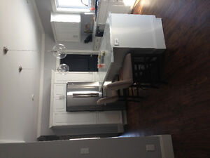 Large beautiful one or two bedroom apartment available Jan. 1st