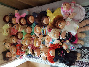 34 cabbage patch kids