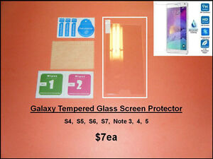 Galaxy.... Tempered Protectors / S5 Back Cover - USB Flap / Case