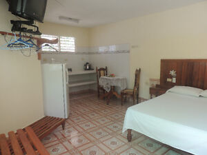 Rooms for rent at Holguin, Cuba