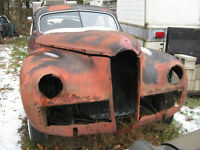 Western 1947 Packard 4-door project car, sell or trade