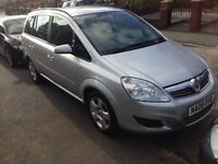 08 VAUXHALL ZAFRIA 1.6 // 12 MONTHS TEST//7 SEATER