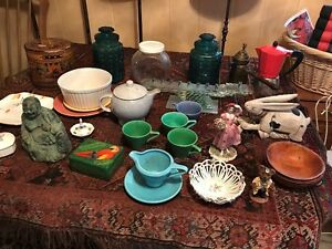 Huge spring fun and funky vintage retro antique sale